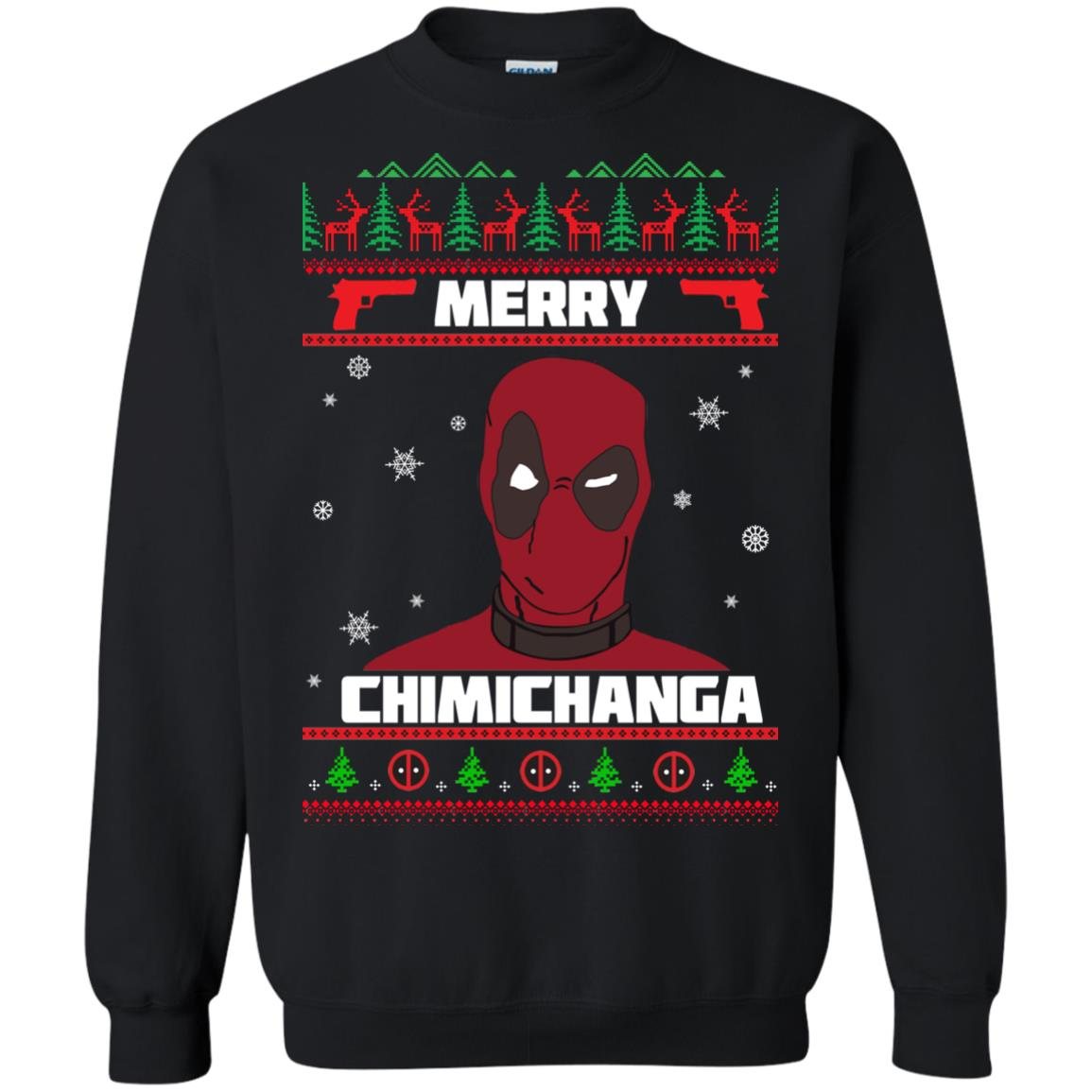 image 1252px Deadpool: Merry Chimichanga Christmas Sweater