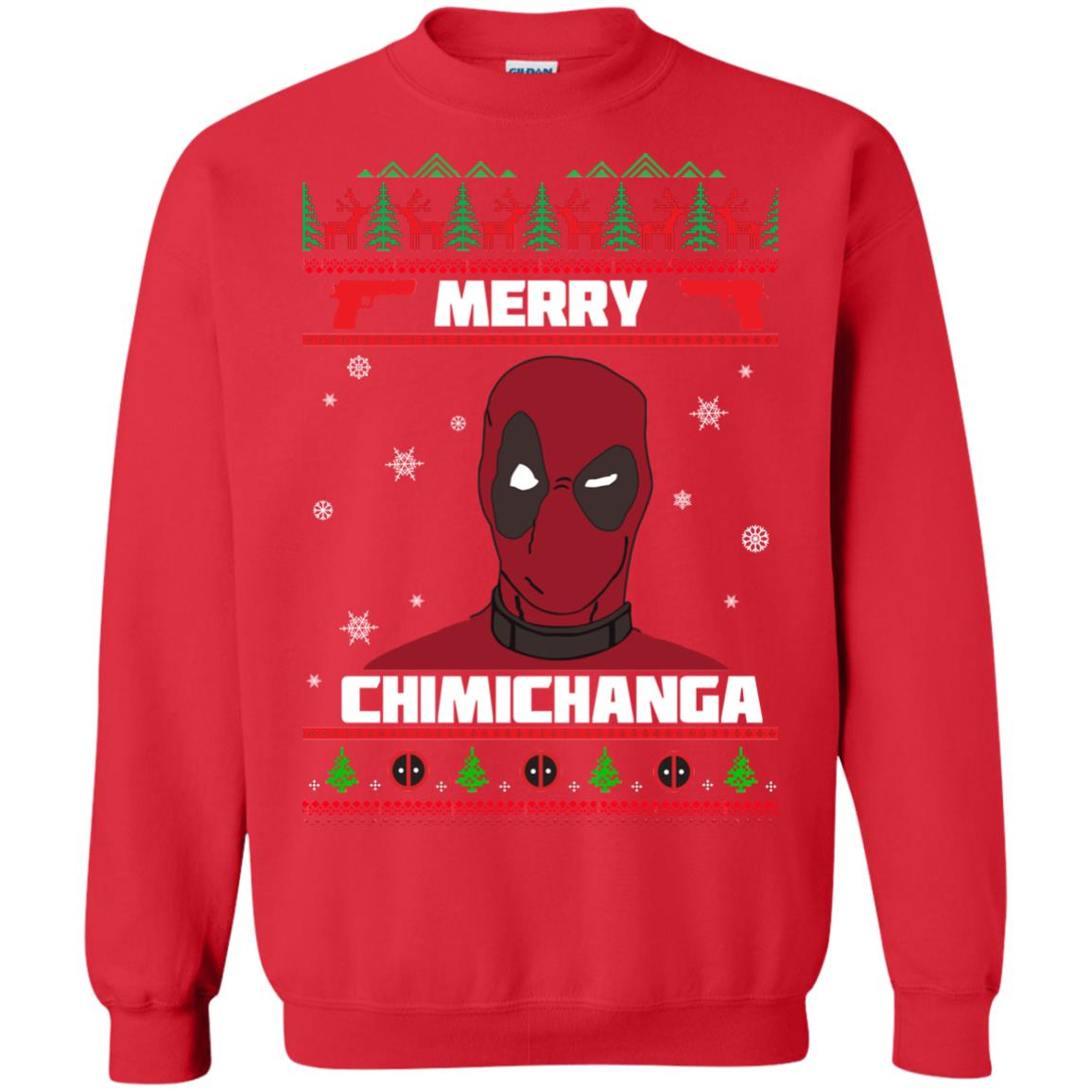 image 1255px Deadpool: Merry Chimichanga Christmas Sweater