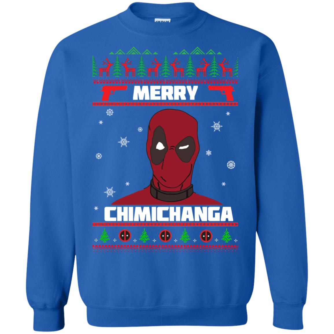 image 1257px Deadpool: Merry Chimichanga Christmas Sweater