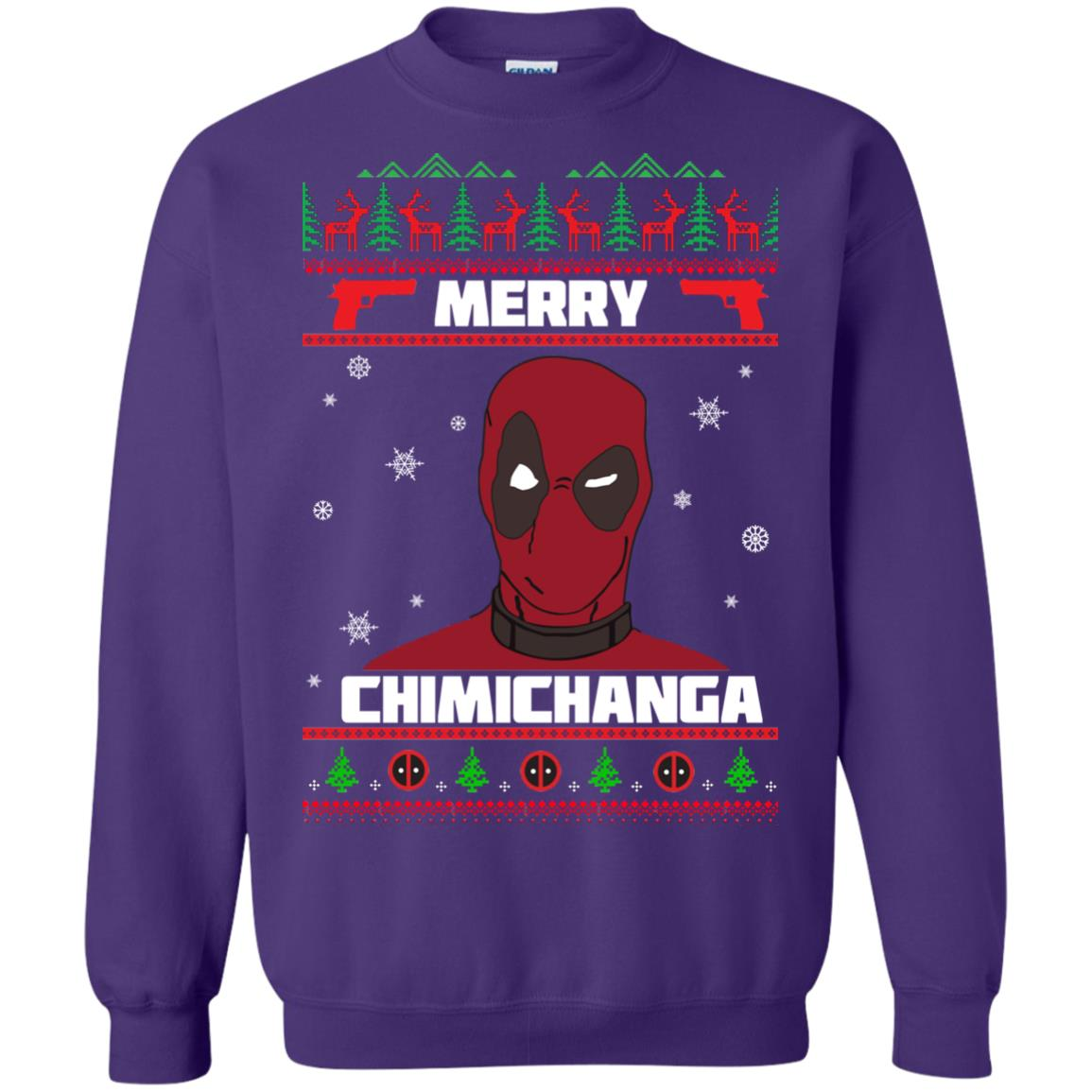 image 1259px Deadpool: Merry Chimichanga Christmas Sweater