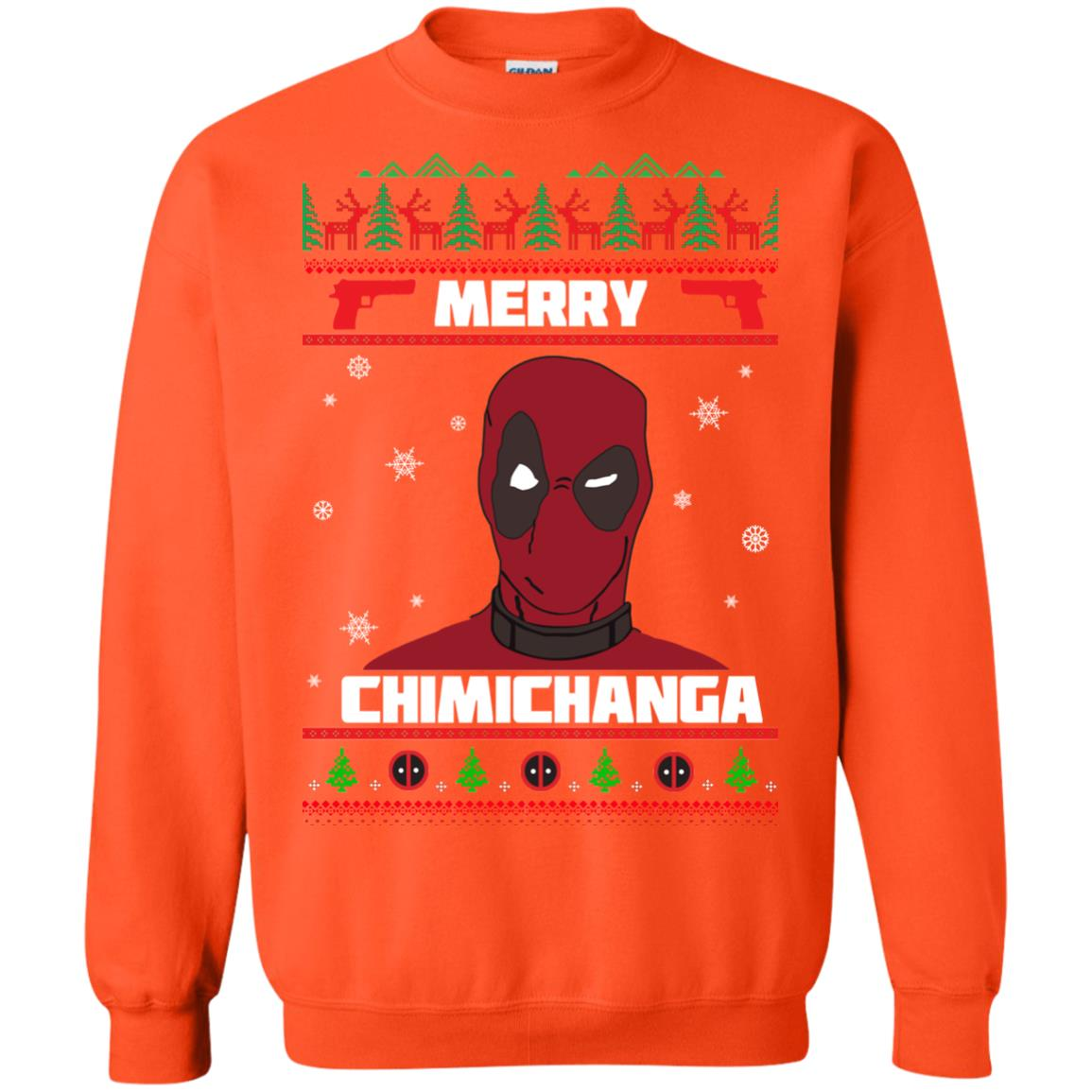 image 1260px Deadpool: Merry Chimichanga Christmas Sweater