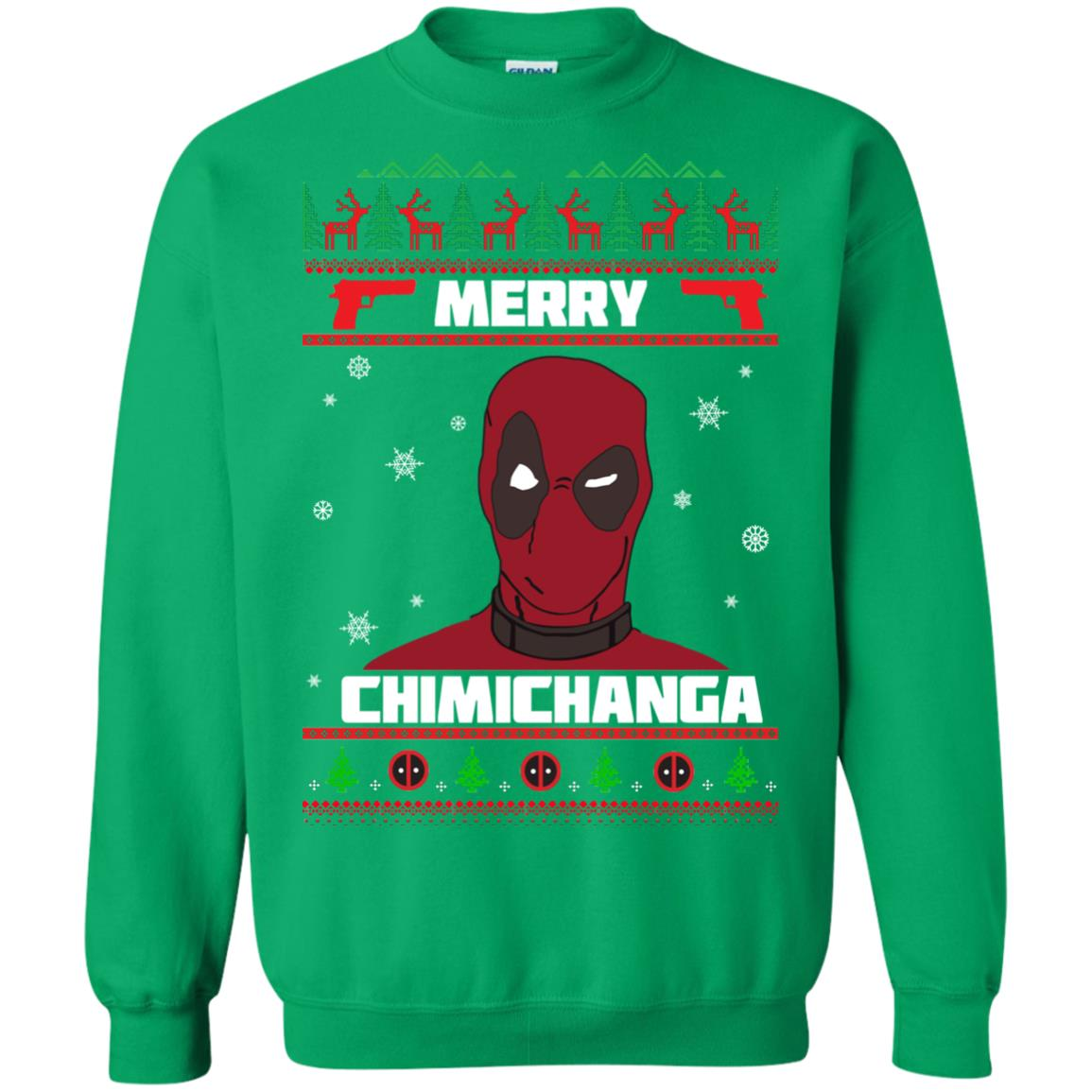 image 1261px Deadpool: Merry Chimichanga Christmas Sweater