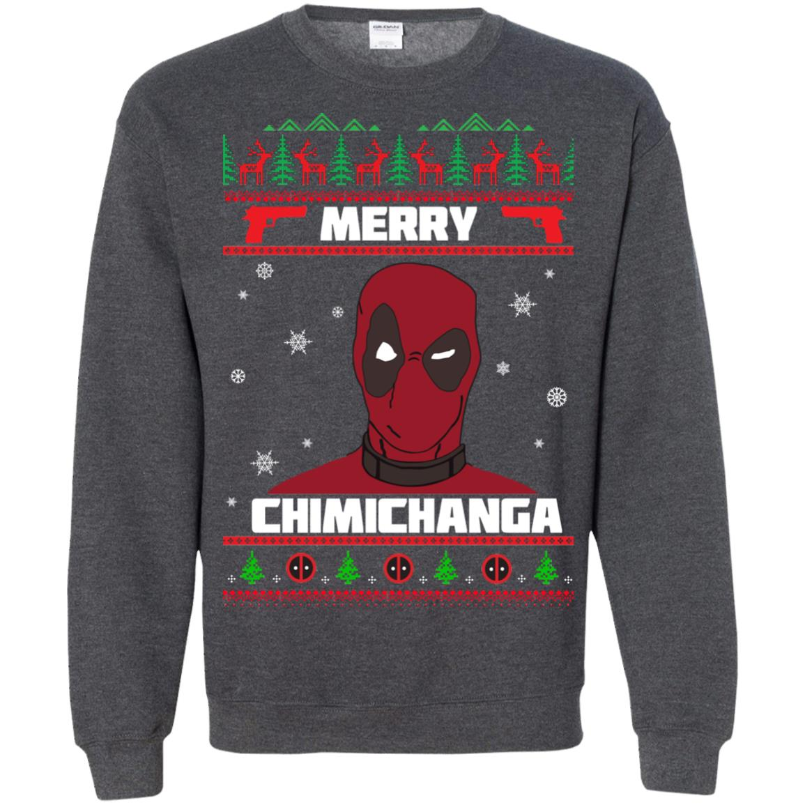 image 1262px Deadpool: Merry Chimichanga Christmas Sweater