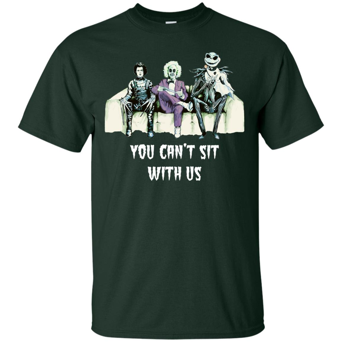 image 1275px Beetlejuice, Edward, Jack: You can't sit with us t shirt, hoodies, tank top