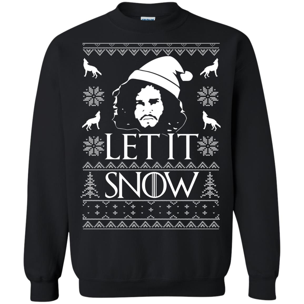 image 1285px Game Of Thrones Let It Snow Christmas Sweater