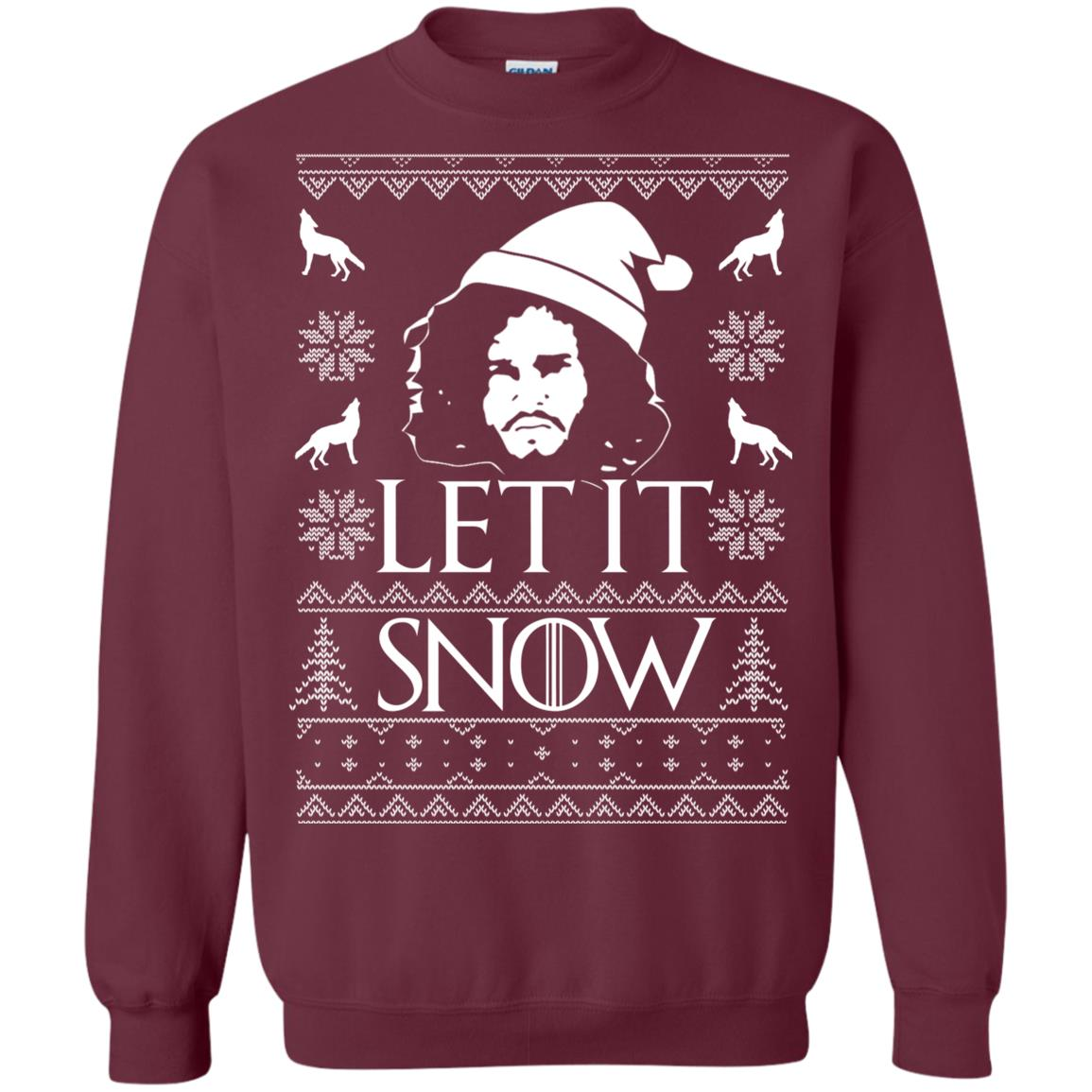 image 1286px Game Of Thrones Let It Snow Christmas Sweater