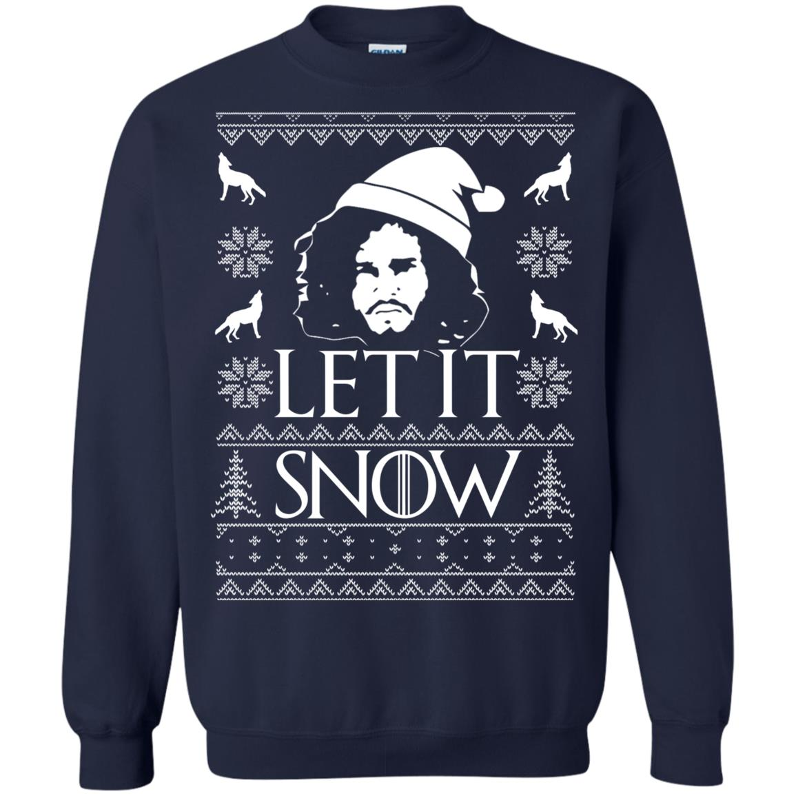 image 1287px Game Of Thrones Let It Snow Christmas Sweater