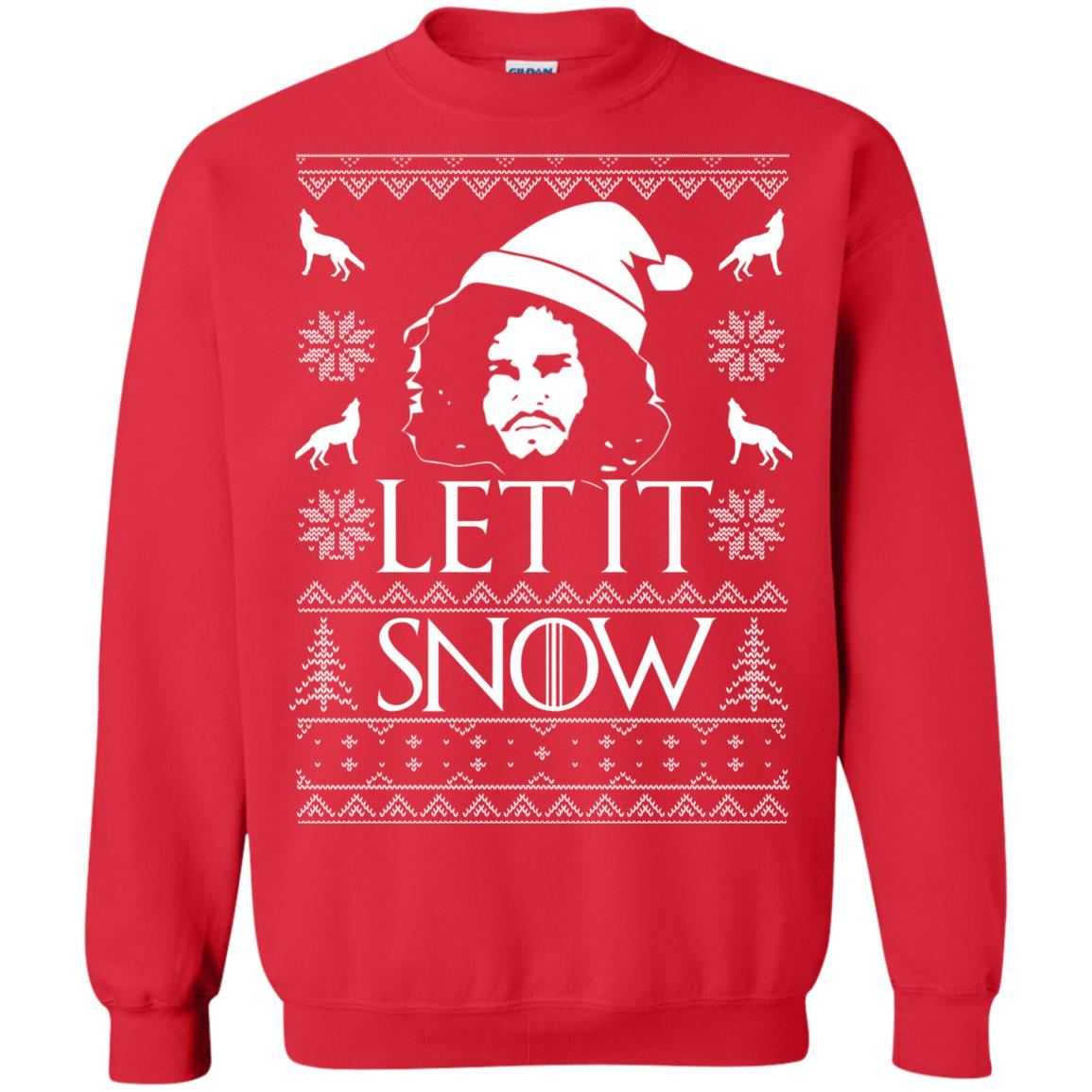 image 1288px Game Of Thrones Let It Snow Christmas Sweater