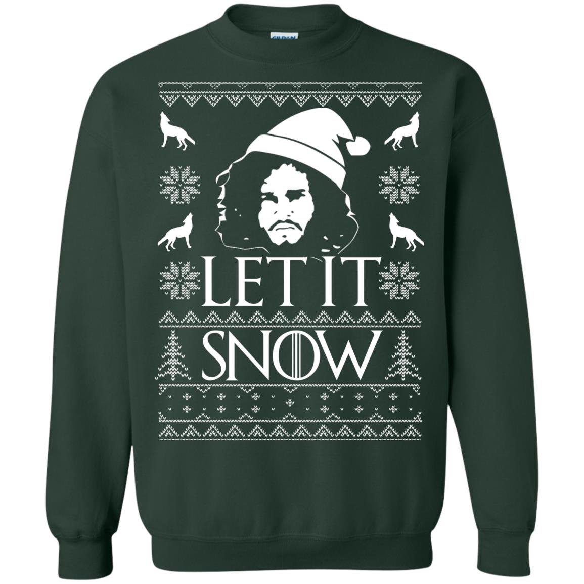 image 1289px Game Of Thrones Let It Snow Christmas Sweater