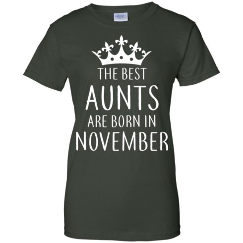 image 129 490x490px The Best Aunts Are Born In November T Shirts, Hoodies, Tank