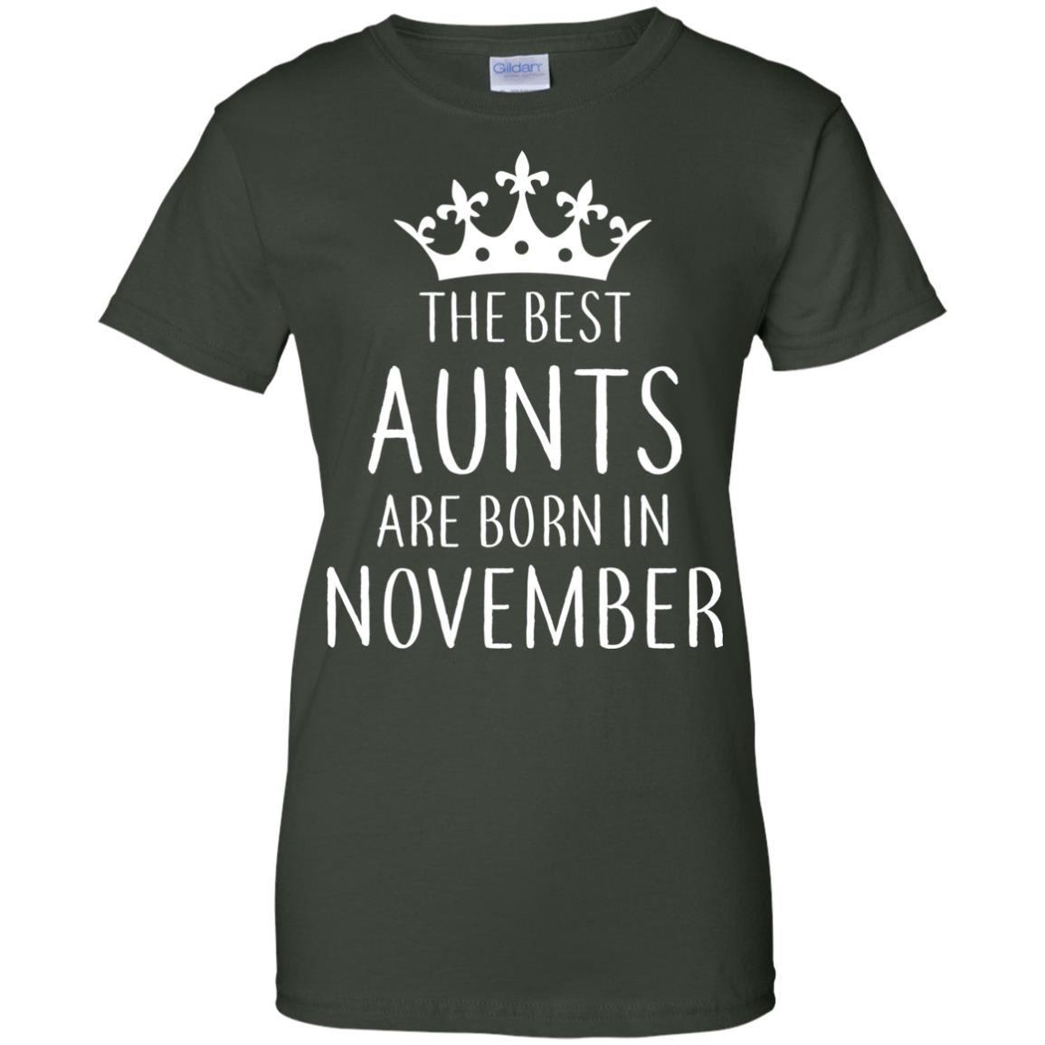image 129px The Best Aunts Are Born In November T Shirts, Hoodies, Tank