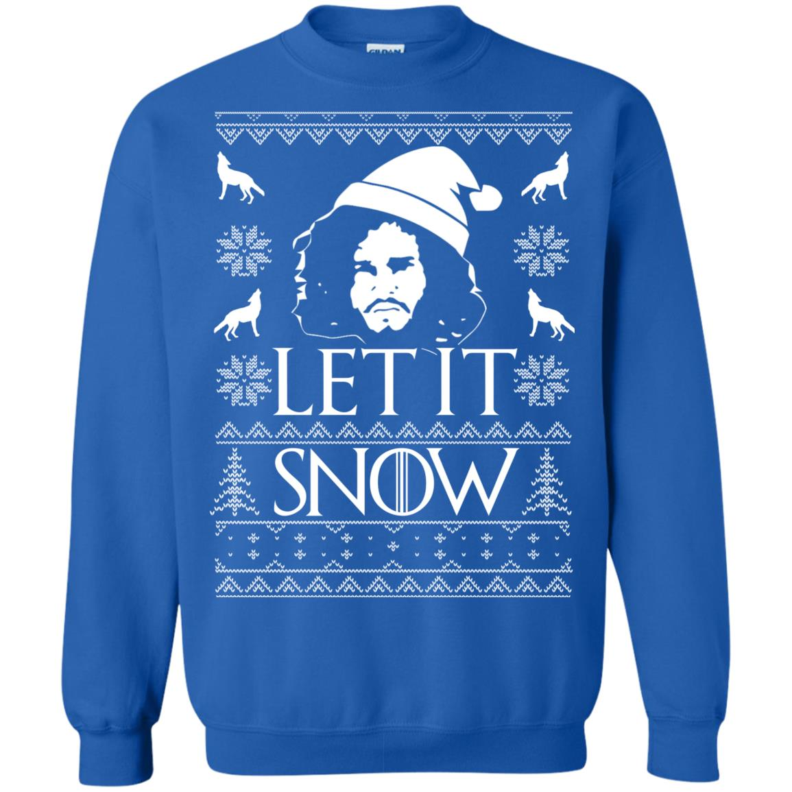 image 1290px Game Of Thrones Let It Snow Christmas Sweater