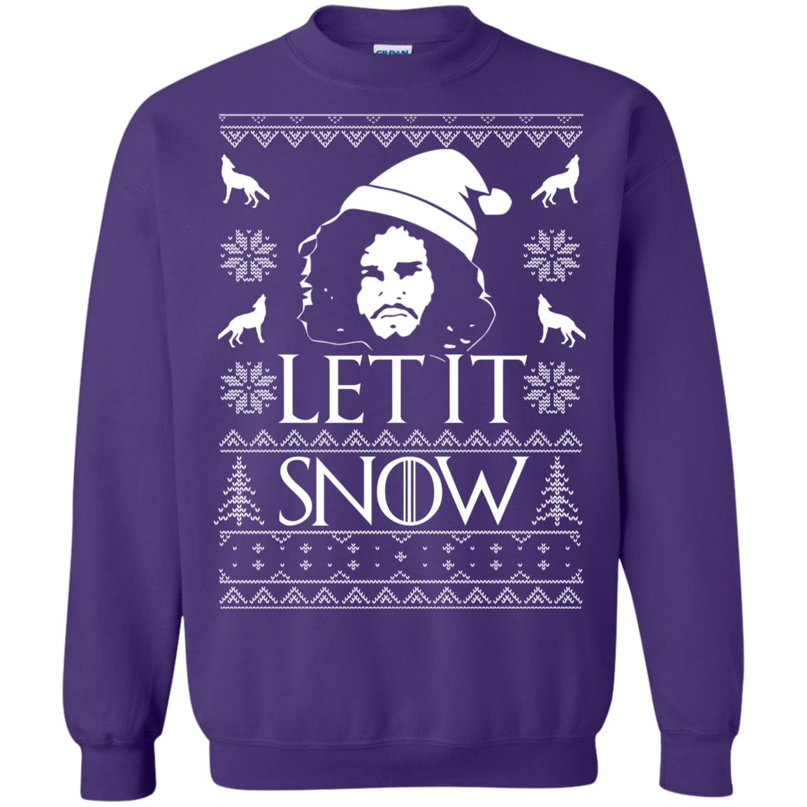 image 1292px Game Of Thrones Let It Snow Christmas Sweater