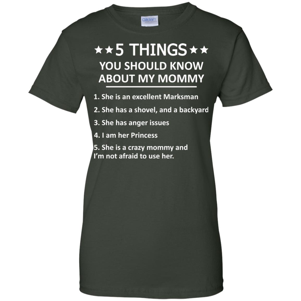 image 1316px 5 Things you should know about my mommy t shirt, hoodies, tank