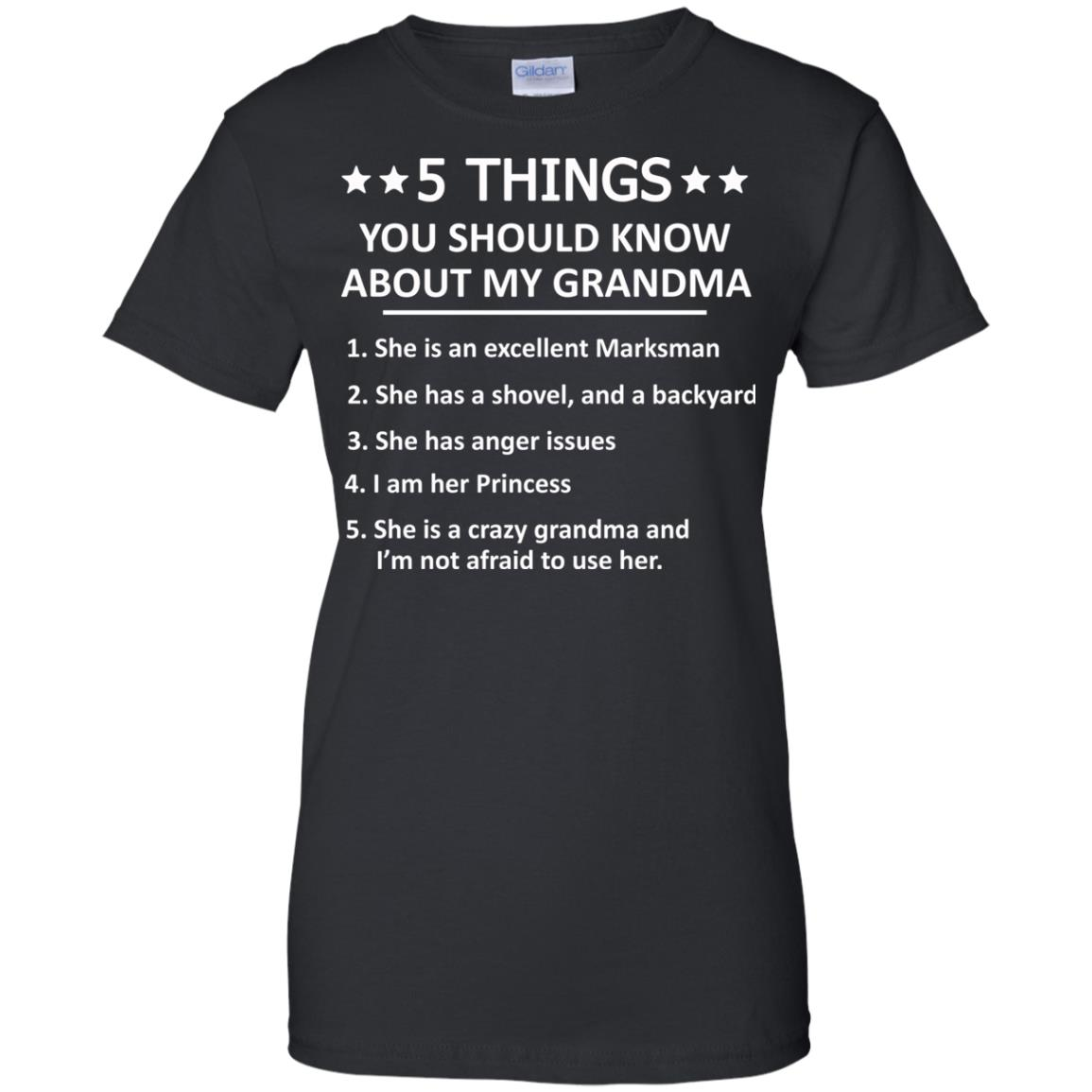 image 1337px 5 Things you should know about my Grandma t shirt, hoodies, tank top