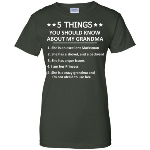 image 1338 490x490px 5 Things you should know about my Grandma t shirt, hoodies, tank top