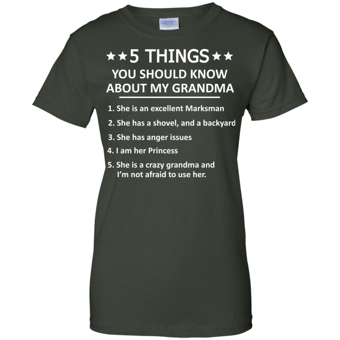 image 1338px 5 Things you should know about my Grandma t shirt, hoodies, tank top