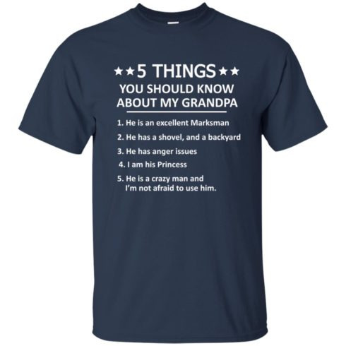 image 1342 490x490px 5 Things you should know about my grandpa t shirt, hoodies, tank top