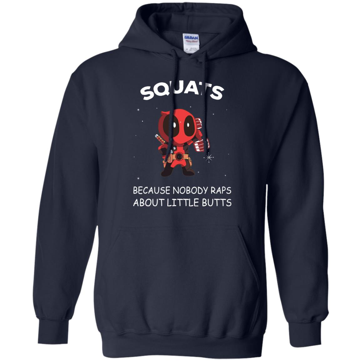 image 146px DeadPool: Squats Because Nobody Raps About Little Butts T Shirts