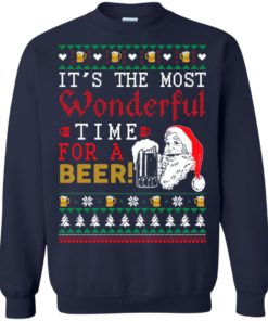 image 1500 247x296px It's The Most Wonderful Time For A Beer Christmas Sweater