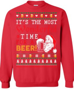 image 1501 247x296px It's The Most Wonderful Time For A Beer Christmas Sweater
