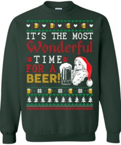 image 1502 247x296px It's The Most Wonderful Time For A Beer Christmas Sweater