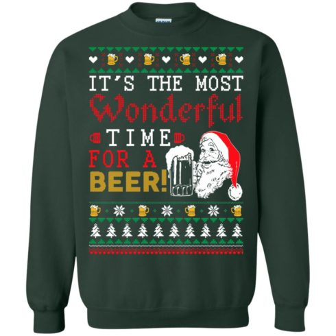 image 1502 490x490px It's The Most Wonderful Time For A Beer Christmas Sweater