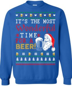 image 1503 247x296px It's The Most Wonderful Time For A Beer Christmas Sweater