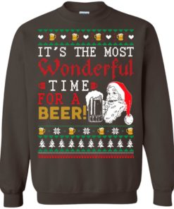 image 1504 247x296px It's The Most Wonderful Time For A Beer Christmas Sweater