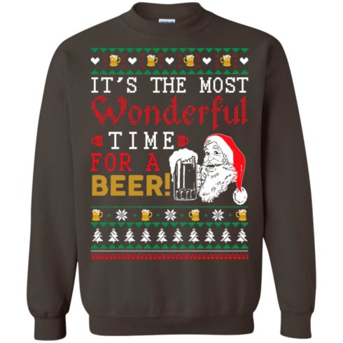 image 1504 490x490px It's The Most Wonderful Time For A Beer Christmas Sweater