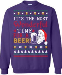 image 1505 247x296px It's The Most Wonderful Time For A Beer Christmas Sweater