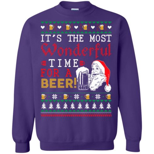 image 1505 490x490px It's The Most Wonderful Time For A Beer Christmas Sweater