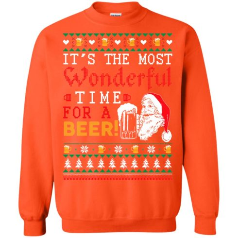 image 1506 490x490px It's The Most Wonderful Time For A Beer Christmas Sweater