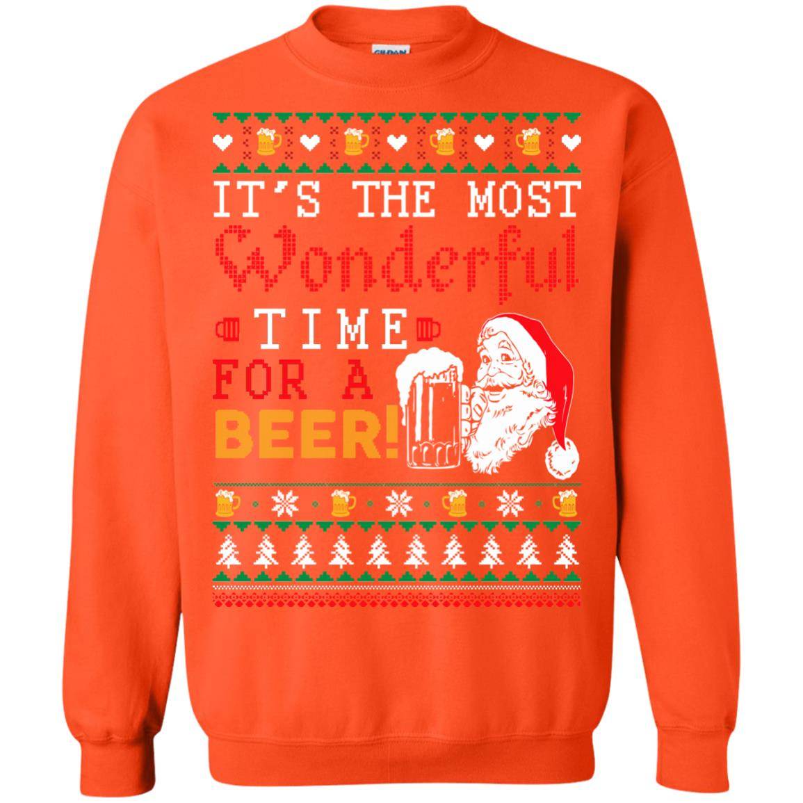 image 1506px It's The Most Wonderful Time For A Beer Christmas Sweater