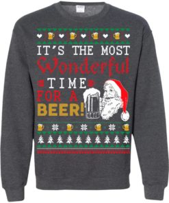 image 1508 247x296px It's The Most Wonderful Time For A Beer Christmas Sweater