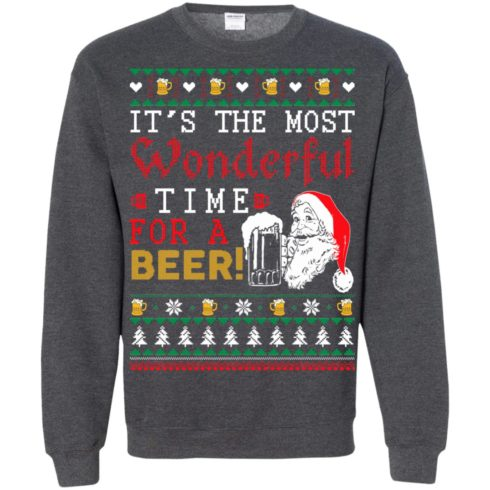 image 1508 490x490px It's The Most Wonderful Time For A Beer Christmas Sweater
