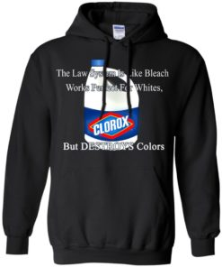 image 1574 247x296px The Law System Is Like Bleach Shirts, Hoodies, Tank