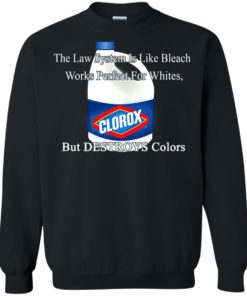 image 1576 247x296px The Law System Is Like Bleach Shirts, Hoodies, Tank