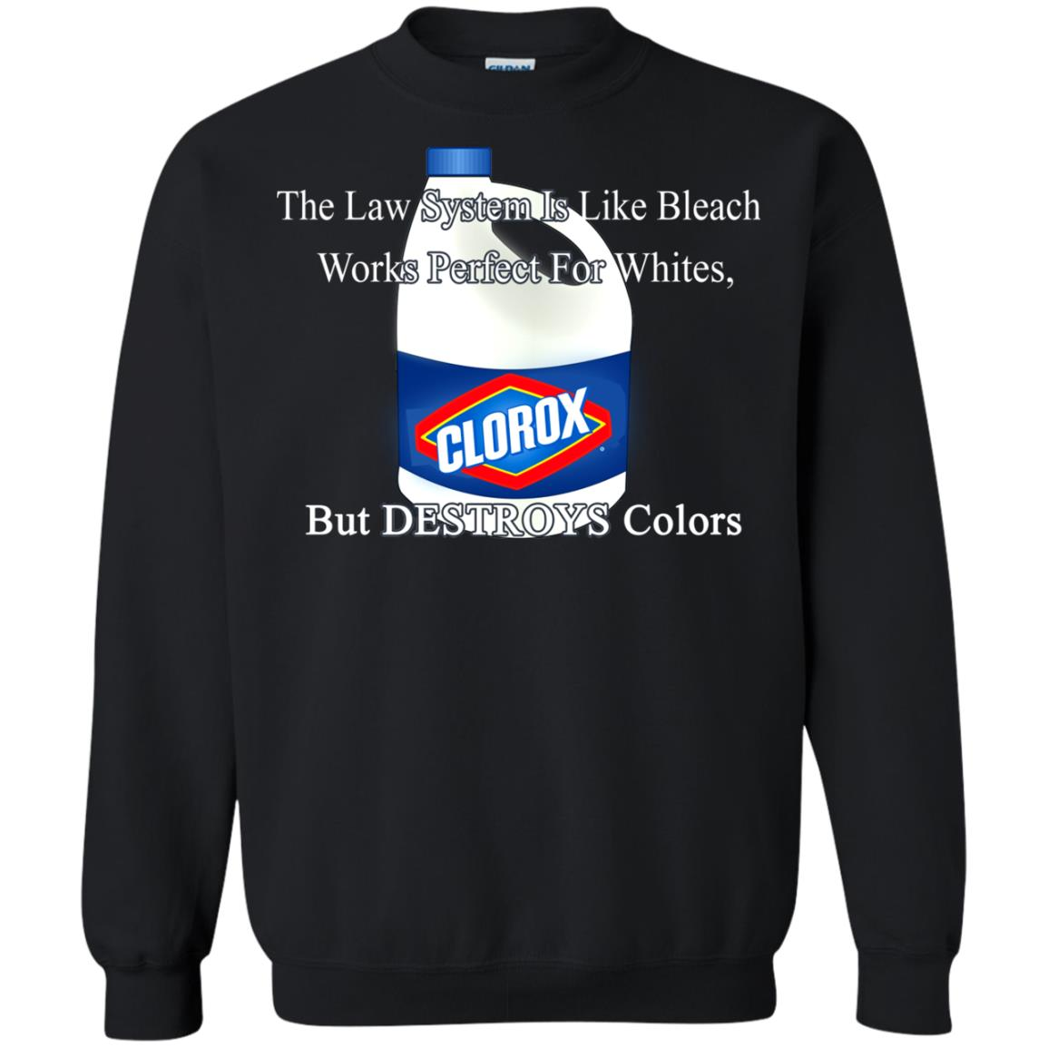 image 1576px The Law System Is Like Bleach Shirts, Hoodies, Tank