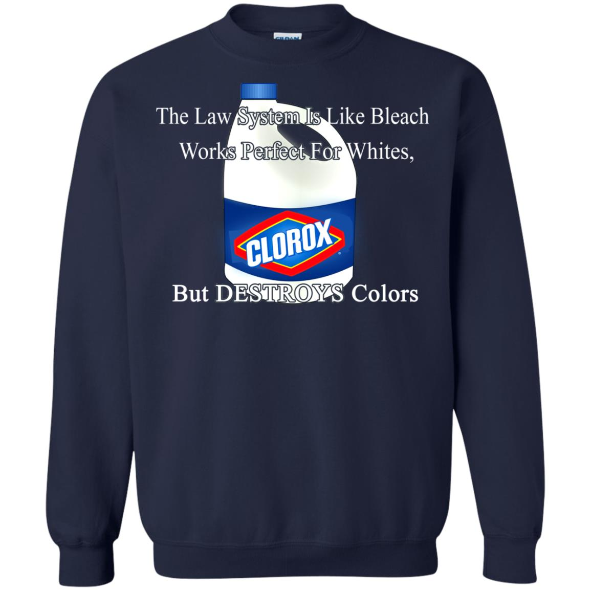 image 1577px The Law System Is Like Bleach Shirts, Hoodies, Tank