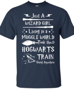 image 1703 247x296px Just A Wizard Girl Living in a Muggle World T Shirts, Hoodies, Sweater