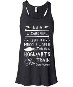 image 1704 247x296px Just A Wizard Girl Living in a Muggle World T Shirts, Hoodies, Sweater