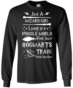 image 1706 247x296px Just A Wizard Girl Living in a Muggle World T Shirts, Hoodies, Sweater
