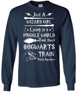 image 1707 247x296px Just A Wizard Girl Living in a Muggle World T Shirts, Hoodies, Sweater