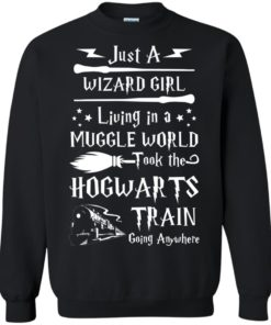 image 1710 247x296px Just A Wizard Girl Living in a Muggle World T Shirts, Hoodies, Sweater