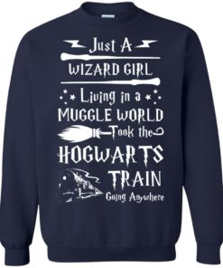 image 1711 247x296px Just A Wizard Girl Living in a Muggle World T Shirts, Hoodies, Sweater
