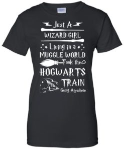 image 1712 247x296px Just A Wizard Girl Living in a Muggle World T Shirts, Hoodies, Sweater