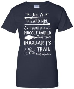 image 1713 247x296px Just A Wizard Girl Living in a Muggle World T Shirts, Hoodies, Sweater