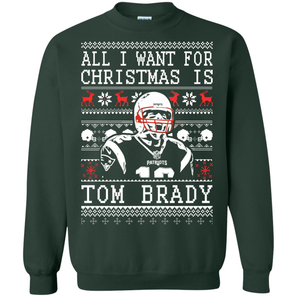 image 1888px All I Want For Christmas Is Tom Brady Christmas Sweater