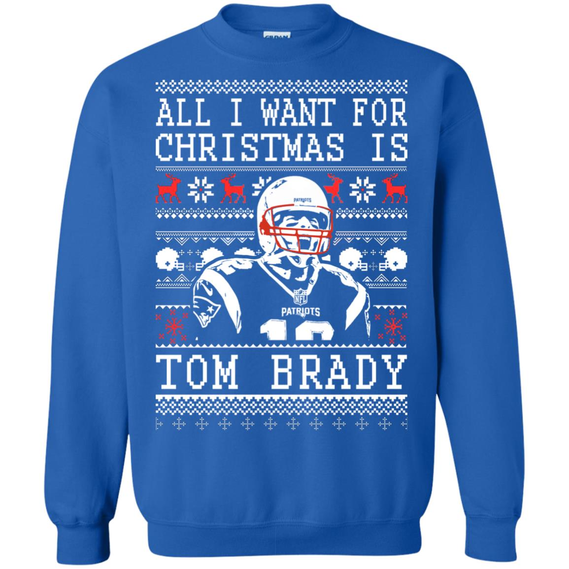image 1889px All I Want For Christmas Is Tom Brady Christmas Sweater